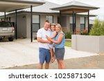 sweet loving family portrait... | Shutterstock . vector #1025871304
