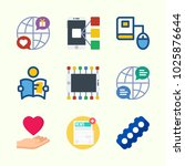 icons about lifestyle with love ... | Shutterstock .eps vector #1025876644