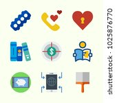 icons about lifestyle with... | Shutterstock .eps vector #1025876770