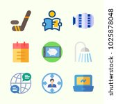 icons about lifestyle with... | Shutterstock .eps vector #1025878048