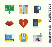 icons about lifestyle with... | Shutterstock .eps vector #1025878108