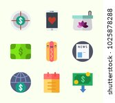 icons about lifestyle with... | Shutterstock .eps vector #1025878288