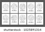 data doodle illustration circle ...   Shutterstock .eps vector #1025891314