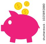 dollar currency icon or logo... | Shutterstock .eps vector #1025892880