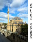 Small photo of Mosque in the Turkish city of Nevsehir-Damat Ibrahim Pasha complex