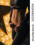 sport abs. vertical no face... | Shutterstock . vector #1025894554