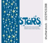 star poster and the inscription ... | Shutterstock .eps vector #1025923288