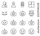 flat vector icon set   support... | Shutterstock .eps vector #1025938138