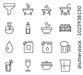 flat vector icon set   funnel... | Shutterstock .eps vector #1025938150