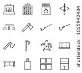 flat vector icon set  ... | Shutterstock .eps vector #1025942434