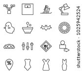flat vector icon set   family... | Shutterstock .eps vector #1025942524