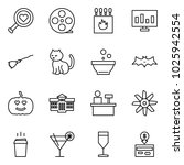 flat vector icon set   find... | Shutterstock .eps vector #1025942554