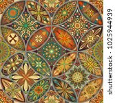 seamless pattern with... | Shutterstock .eps vector #1025944939