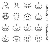 flat vector icon set   support... | Shutterstock .eps vector #1025948098