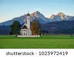beautiful view st. coloman... | Shutterstock . vector #1025972419