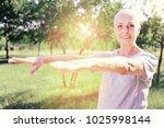 healthy lifestyle. portrait of... | Shutterstock . vector #1025998144
