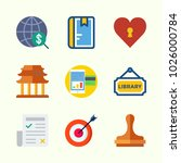 icons about lifestyle with... | Shutterstock .eps vector #1026000784