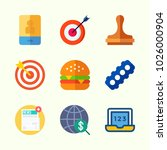 icons about lifestyle with... | Shutterstock .eps vector #1026000904