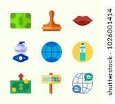 icons about lifestyle with kiss ... | Shutterstock .eps vector #1026001414