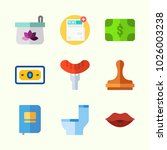 icons about lifestyle with wc ... | Shutterstock .eps vector #1026003238