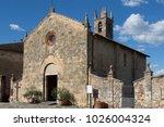 santa maria assunta church in... | Shutterstock . vector #1026004324