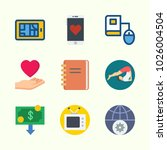 icons about lifestyle with... | Shutterstock .eps vector #1026004504