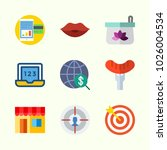 icons about lifestyle with... | Shutterstock .eps vector #1026004534