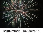 fireworks at night | Shutterstock . vector #1026005014