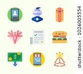 icons about lifestyle with... | Shutterstock .eps vector #1026005554
