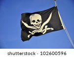 Jolly Roger   Flag Of A Pirate...