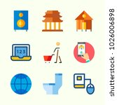 icons about lifestyle with... | Shutterstock .eps vector #1026006898