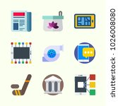 icons about lifestyle with... | Shutterstock .eps vector #1026008080