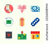 icons about lifestyle with... | Shutterstock .eps vector #1026008944