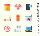 icons about lifestyle with... | Shutterstock .eps vector #1026009934