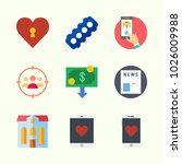 icons about lifestyle with... | Shutterstock .eps vector #1026009988