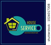 repair company logo or house