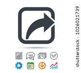 share icon. send social media... | Shutterstock .eps vector #1026021739