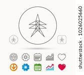 electricity station icon. power ... | Shutterstock .eps vector #1026025660
