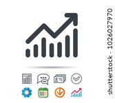 graph icon. business analytics... | Shutterstock .eps vector #1026027970