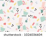 graphic pattern vector print | Shutterstock .eps vector #1026036604
