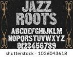 font.alphabet.script.typeface...   Shutterstock .eps vector #1026043618