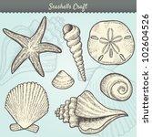vector illustration of various... | Shutterstock .eps vector #102604526