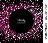 holiday greeting vector... | Shutterstock .eps vector #1026048934