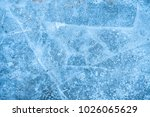ice background. ice in the... | Shutterstock . vector #1026065629