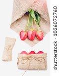 easter egg. funny holiday bunny ... | Shutterstock . vector #1026072760