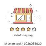 vector creative illustration of ... | Shutterstock .eps vector #1026088030
