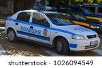sofia bulgaria sept 28 police... | Shutterstock . vector #1026094549