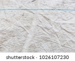 white nylon with a blue line | Shutterstock . vector #1026107230