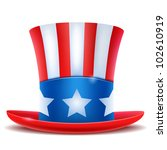 4 of july celebration hat icon. | Shutterstock .eps vector #102610919