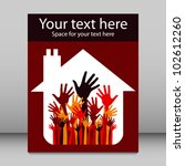 house party leaflet design. | Shutterstock .eps vector #102612260